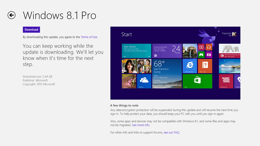 Why you need to update to Windows 8.1