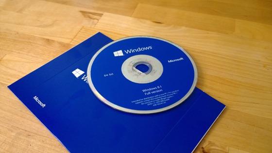 Windows 8.1 installation media