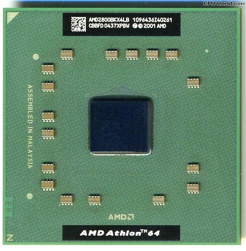 AMD Athlon 64 2800+ AMD2800BKX4LB