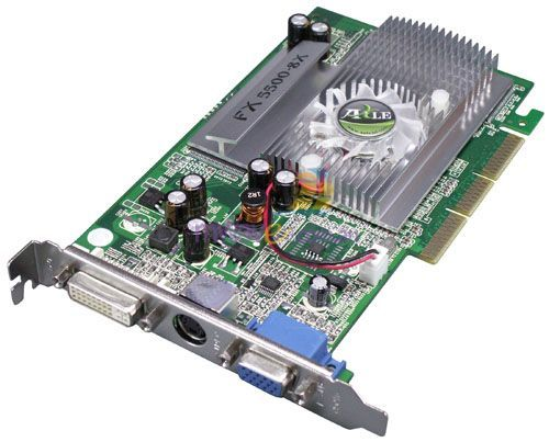Galaxy Zeus FX5500 256MB AGP 8X Graphics Card